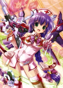 Rating: Questionable Score: 19 Tags: komatsu_e-ji mecha_musume mecha_nurse_girl_nana pantsu thighhighs User: milksakura