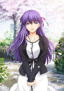 Rating: Safe Score: 36 Tags: breast_hold dress fate/stay_night fate/stay_night_heaven's_feel matou_sakura tagme User: Spidey