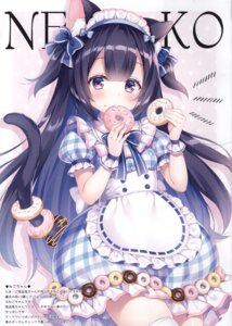 Rating: Safe Score: 57 Tags: animal_ears maid mitsuba_choco nekomimi tagme tail thighhighs User: kiyoe