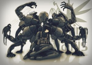 Rating: Safe Score: 22 Tags: mecha_musume metal_gear_solid metal_gear_solid_4 robce_lee User: Radioactive
