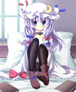 Rating: Questionable Score: 34 Tags: a_flow pantsu pantyhose patchouli_knowledge touhou User: fairyren