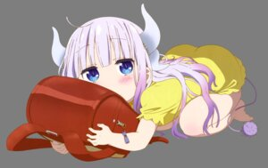 Rating: Questionable Score: 42 Tags: dress horns kadowaki_miku kanna_kamui kobayashi-san_chi_no_maid_dragon tail transparent_png User: Mekdra