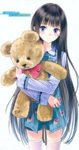Rating: Safe Score: 66 Tags: kamisama_no_memochou kishida_mel pajama shionji_yuuko thighhighs User: Radioactive