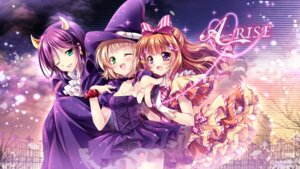 Rating: Safe Score: 28 Tags: cleavage dress halloween horns kira_tsubasa love_live! sakurano_ruu toudou_erina wallpaper witch yuuki_anju User: 椎名深夏