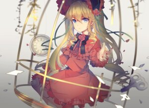 Rating: Safe Score: 35 Tags: dress lolita_fashion rozen_maiden shinku xiaohan6th User: Mr_GT