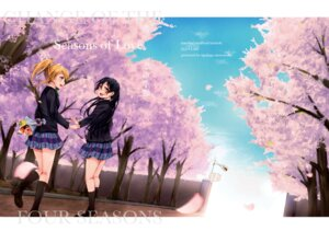 Rating: Safe Score: 16 Tags: ayase_eli love_live! seifuku sonoda_umi User: saemonnokami