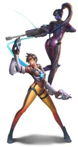 Rating: Safe Score: 28 Tags: ass bodysuit dantewontdie gun overwatch tattoo tracer widowmaker User: charunetra