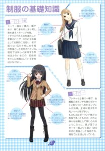 Rating: Safe Score: 4 Tags: arima_jirou koi pantyhose seifuku User: crim