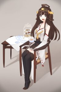 Rating: Safe Score: 22 Tags: amagi_mikoto kantai_collection kongou_(kancolle) lolita_fashion miko thighhighs wa_lolita User: 23yAyuMe