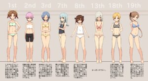 Rating: Safe Score: 48 Tags: akigumo_(kancolle) bike_shorts bra cassandra_(seishun_katsu_sando) cleavage hamakaze_(kancolle) hatsukaze_(kancolle) kantai_collection kuroshio_(kancolle) lingerie maikaze_(kancolle) pantsu shiranui_(kancolle) yukikaze_(kancolle) User: BattlequeenYume