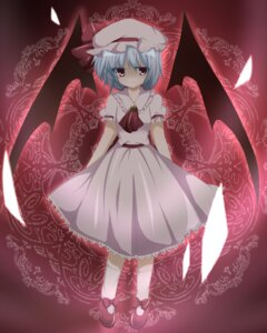 Rating: Safe Score: 4 Tags: emyu remilia_scarlet touhou wings User: charunetra
