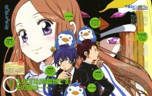 Rating: Safe Score: 13 Tags: mawaru_penguindrum nishii_terumi penguin takakura_himari takakura_kanba takakura_shouma User: SubaruSumeragi
