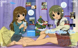 Rating: Safe Score: 8 Tags: dejiko di_gi_charat feet hasegawa_shinya puchiko winter_garden User: vita