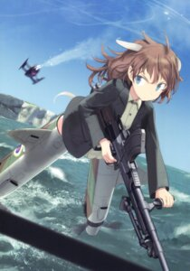 Rating: Safe Score: 11 Tags: animal_ears gun harriet_steer shimada_humikane strike_witches tail uniform User: Radioactive