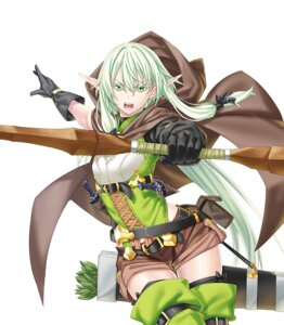 Rating: Safe Score: 19 Tags: elf garter goblin_slayer high_elf_archer kannatsuki_noboru pointy_ears tagme thighhighs weapon User: Spidey