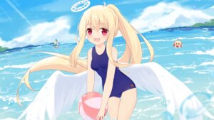 Rating: Questionable Score: 16 Tags: angel chibi fufumi school_swimsuit swimsuits wet wings User: yanis
