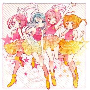 Rating: Safe Score: 12 Tags: aida_mana cheerleader dokidoki!_precure hishikawa_rikka kenzaki_makoto pretty_cure yotsuba_alice yuucho User: Radioactive