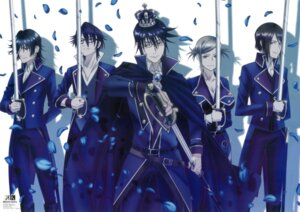 Rating: Safe Score: 16 Tags: awashima_seri cleavage fushimi_saruhiko k k:_missing_kings megane munakata_reisi sword tagme User: Radioactive