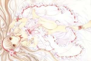 Rating: Safe Score: 21 Tags: chii chobits clamp dress feet lolita_fashion User: MosquitoJack