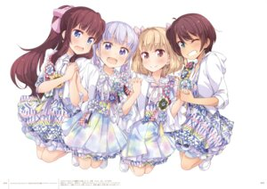 Rating: Safe Score: 52 Tags: dress iijima_yun new_game! shinoda_hajime suzukaze_aoba takimoto_hifumi tokunou_shoutarou User: Twinsenzw