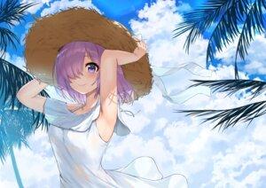 Rating: Safe Score: 36 Tags: dress fate/grand_order jjeono mash_kyrielight skirt_lift summer_dress User: BattlequeenYume