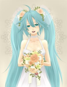 Rating: Safe Score: 13 Tags: dress hatsune_miku moz vocaloid wedding_dress User: anaraquelk2