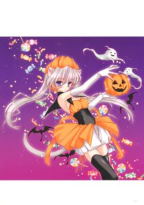 Rating: Safe Score: 31 Tags: animal_ears bloomers cleavage halloween nekomimi tagme tail thighhighs User: Radioactive