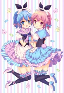 Rating: Safe Score: 35 Tags: dorothy_west heels leona_west lyric maid pripara thighhighs trap User: 椎名深夏