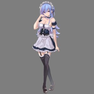 Rating: Safe Score: 41 Tags: cleavage kesoshirou maid no_bra stockings thighhighs transparent_png User: charunetra