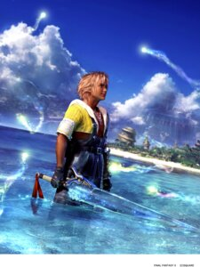 Rating: Safe Score: 9 Tags: cg final_fantasy final_fantasy_x male square_enix tidus User: Radioactive