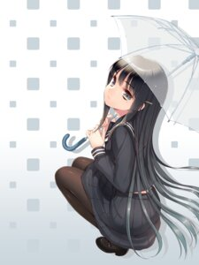 Rating: Safe Score: 81 Tags: cuteg hinabita pantyhose seifuku shimotsuki_rin umbrella User: lee1238234