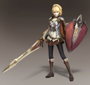 Rating: Safe Score: 25 Tags: armor cleavage pantyhose sword tagme toukiden User: NotRadioactiveHonest