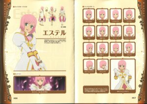 Rating: Safe Score: 4 Tags: binding_discoloration estellise_sidos_heurassein tales_of tales_of_vesperia User: majoria