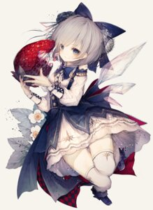 Rating: Safe Score: 53 Tags: cirno hito_komoru see_through thighhighs touhou wings User: Dreista