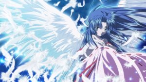 Rating: Safe Score: 11 Tags: air cleavage japanese_clothes kannabi_no_mikoto tagme wallpaper wings User: Marona762