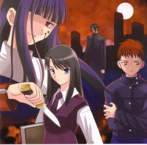 Rating: Safe Score: 1 Tags: asagami_fujino kara_no_kyoukai kokutou_azaka User: shadow_Hiei