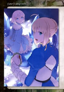 Rating: Safe Score: 28 Tags: armor dress fate/prototype fate/stay_night saber User: drop