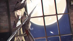 Rating: Safe Score: 6 Tags: bloodborne lady_maria_of_the_astral_clocktower onigensou wallpaper weapon User: charunetra
