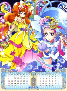 Rating: Questionable Score: 8 Tags: amanogawa_kirara calendar dress go!_princess_pretty_cure kaidou_minami pretty_cure weapon User: drop