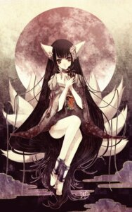 Rating: Safe Score: 24 Tags: animal_ears ishikawa_sae kimono kitsune lolita_fashion nekomimi wa_lolita User: yumichi-sama