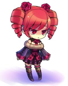 Rating: Safe Score: 32 Tags: amy_sorel byuune chibi dress fishnets gothic_lolita lolita_fashion soul_calibur thighhighs User: blooregardo
