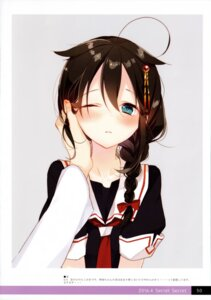 Rating: Safe Score: 29 Tags: kantai_collection moni naoto seifuku shigure_(kancolle) User: kiyoe