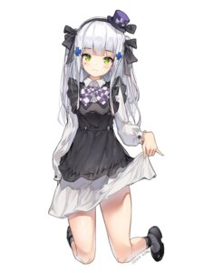 Rating: Safe Score: 59 Tags: dduck_kong dress girls_frontline gothic_lolita hk416_(girls_frontline) lolita_fashion skirt_lift User: BattlequeenYume