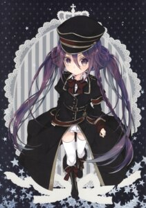 Rating: Questionable Score: 22 Tags: inugami_kira loli necotoxin thighhighs User: Radioactive