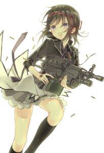 Rating: Safe Score: 24 Tags: akemi_homura gun puella_magi_madoka_magica seifuku tagme User: Spidey