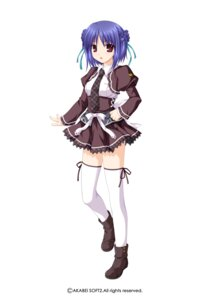 Rating: Safe Score: 18 Tags: alpha konboku_mahjong seifuku thighhighs User: alimilena