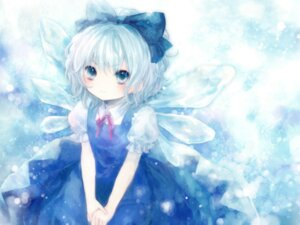 Rating: Safe Score: 32 Tags: cirno onineko touhou wallpaper wings User: charunetra