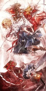 Rating: Safe Score: 18 Tags: alice_margatroid hakurei_reimu kozou shanghai touhou User: Radioactive