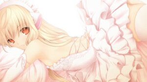 Rating: Safe Score: 92 Tags: chii chobits dress kintarou_(kintarou_room) no_bra thighhighs User: Mr_GT