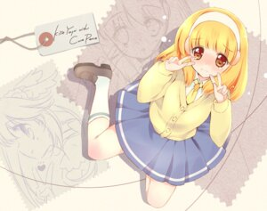 Rating: Safe Score: 22 Tags: kise_yayoi pretty_cure rei seifuku smile_precure! wallpaper User: fairyren